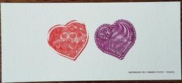 GRAVURE - YT N°3861, 3862 - Saint Valentin / Coeurs / Stéphane Rolland, Maison Scherrer - 2006 - Documents Of Postal Services