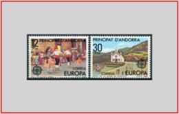 Andorra SP 1981 - Cat. 131/32 (MNH **) Europa CEPT - Europe (003377) - Andorre Espagnol