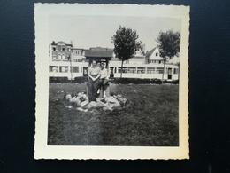 HEIST KNOKKE - HEIST FLANDRE BELGIQUE EUROPE LOT 4 PHOTOS ORIGINALES D UNE FAMILLE DE BELGISUE - Lieux