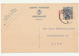Pws106 35c Op 50c Gheel - Entiers Postaux
