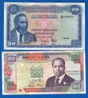 Kenya  2  Billets - Kenya