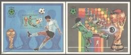Libya - Libye - Libia 1982 Yvert BF 48-49, España 82 Football World Cup - MNH - Libia