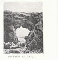 1901 - Phototypie - Dinan (Côtes-d'Armor) - La Percée Des Korrigans - FRANCO DE PORT - Vieux Papiers
