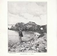 1901 - Phototypie - Dinan (Côtes-d'Armor) - Le Château - FRANCO DE PORT - Vieux Papiers