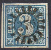 ALLEMAGNE ! Timbre Ancien De BAVIÈRE De 1849 N°2 - Bavaria