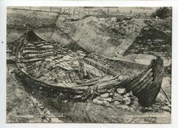 Norvège Norge - Osebergskipet Under Utgrawningen (enerett Universitetes Oldsaksam N°1 Cp Vierge) Bateau - Norvège