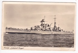 AK Kreuzer Admiral Hipper Gel. Feldpost 1940 (7994) - Ausrüstung