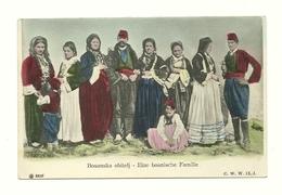 AK Bosnien - Familie - Trachten - Bosnie-Herzegovine
