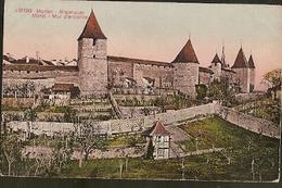 Switzerland ** & Postal, Greetings From Murten Morat Ringmauer (31190) - Souvenir De...