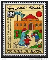"MAROC N° 983  XX Premier Village D'enfants ""S.O.S."" Au Maroc TB - Maroc (1956-...)"