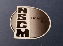AUTOCOLLANT HANDBALL CLUB ASCM  TOULON - Autocollants