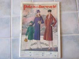 Catalogue Palais De La Nouveaute Boulevard Barbes Paris Hiver 1926 1927 - Werbung