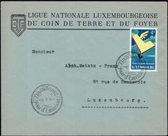 1954 Ligue Nationale Luxembourgeoise Du Coin De Terre Et Du Foyer, Michel: 524 - Luxembourg