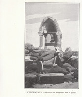 1901 - Phototypie - Perros-Guirec (Côtes-d'Armor) - L'oratoire De Saint-Quirec à Ploumanach - FRANCO DE PORT - Vieux Papiers