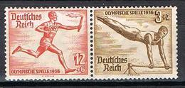 ALLEMAGNE EMPIRE 565 ET 569* SE TENANT - Deutschland
