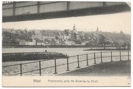 CPA PK  VISE  PANORAMA PRIS DE DESSOUS LE PONT - Belgique