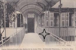 NICE  Union Des Amies De La Jeune Fille. Solidarité Féminine. 3 Rue Massena. - Nice