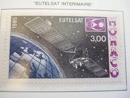 MONACO  1985. EUTELSAT   MNH ** (IS11-000) - Idées Européennes