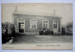 60 - HEMEVILLERS   -     école  Primaire - Mairie - Ecoles