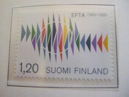 FINLAND   1985. EFTA 25 YEARS   MNH ** (IS11-000) - Idées Européennes