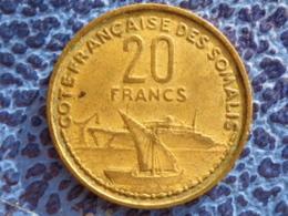 COTE FRANCAISE DES SOMALIS 20 FRANCS 1952 - Kolonies