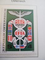 AUSTRIA   1985. EFTA 25 YEARS   MNH ** (IS11-000) - European Ideas
