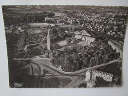 Grenoble. Vue Aerienne. Tour De L'Exposition. Monument Des Diables Bleus. CIM 3A Postmarked 1954 - Grenoble