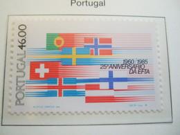 PORTUGAL   1985. EFTA 25 YEARS   MNH ** (IS11-000) - European Ideas
