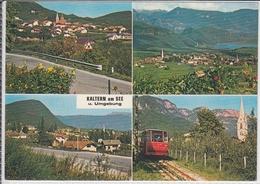 CALDARO S. Antonio, Stazione Funivia, S. Nicolò, Caldaro Al Lago, Paese Di Mezzo,  KALTERN  Viaggiata - Italia