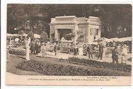 72 - LE MANS - Le Pavillon De Dégustation Du Chocolat MENIER 1923 - Le Mans