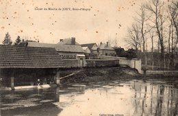 77 LAVOIR DU MOULIN DE JOUY BOUT D' ANGUY ANIMEE - Montereau