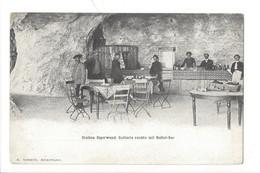 21123 - Jungfraubahn Station Eigerwand Gallerie Rechts Mit Buffet-Bar + Cachet De La Station 11.08.1906 - BE Bern