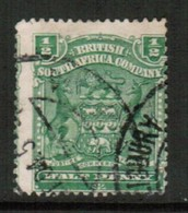RHODESIA   Scott # 59 F-VF USED (Stamp Scan # 434) - Great Britain (former Colonies & Protectorates)