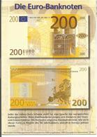 V3226 Die Euro Bankonoten - Banconota Papermoney - 200 Euro / Viaggiata 1999 - Monete (rappresentazioni)