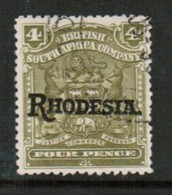 RHODESIA   Scott # 87 VF USED (Stamp Scan # 434) - Great Britain (former Colonies & Protectorates)