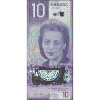 TWN - CANADA NEW - 10 Dollars 2018 Polymer - Prefix FTY - Signatures: Wilkins & Poloz UNC - Canada