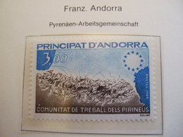 ANDORRE FRANCE    1984  PYRENEES REGION MNH ** (IS11-000) - Idées Européennes