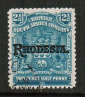 RHODESIA   Scott # 85 VF USED (Stamp Scan # 434) - Great Britain (former Colonies & Protectorates)
