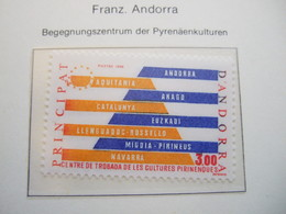 ANDORRE FRANCE    1984  PYRENEES REGION MNH ** (IS11-000) - European Ideas