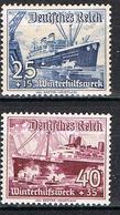ALLEMAGNE EMPIRE 601/602* - Deutschland
