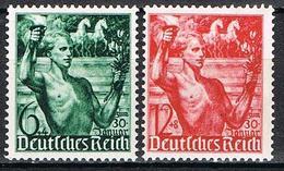ALLEMAGNE EMPIRE 603/604* - Deutschland