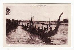 SIAM   Missions Salésiennes    Gondole Royale - Thaïlande