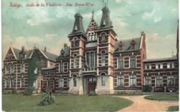 LIèGE   Asile De La Vieillesse -rue Basse-Wez. - Luik
