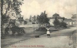 LIèGE   Les Serres Du Jardin Botanique. - Luik