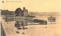 LIèGE   La Meuse Et Le Petit Paradis. - Luik