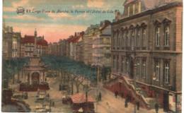 LIèGE  Place Du Marché, Le Perron Et L' Hôtel De Ville. - Luik