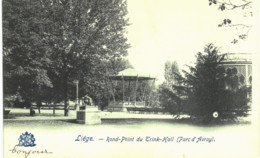LIèGE  Rond-point Du Trink-hall ( Parc D' Avroy). - Luik