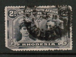 RHODESIA   Scott # 103 USED FAULTS (Stamp Scan # 434) - Great Britain (former Colonies & Protectorates)