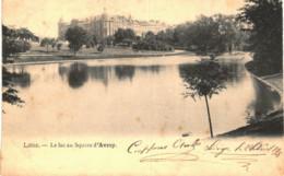 LIèGE    L'étang Du Square D' Avroy. - Luik