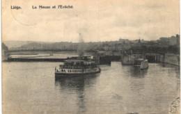 LIèGE   La Meuse Et L' évêché. - Luik